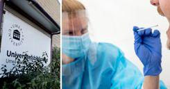 20 ألف شخص سيجرون اختبار فيروس كورونا في جامعة أوميو image