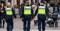 600 شرطي جديد جاهزون لتولي مهامهم في السويد image