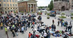 انخفاض أعداد المهاجرين إلى السويد عام 2020 image