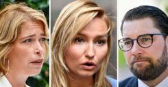 السياسيون السويديون: أوكيسون وبوش ينفثان سمهما ويثيران القلق image