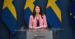 وزيرة الخارجية تعلن أولويات سياسة السويد لعام 2021 image