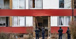 انفجار عنيف يهز مبنى سكني الليلة الماضية image