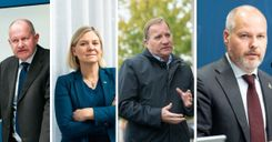 تبريرات المسؤولين الذين خالفوا التوصيات في الحكومة السويدية image