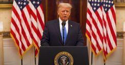 ترامب يلقي خطاب الوداع image