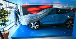 شاهد : فولفو تطلق سيارة كهربائية جديدة image