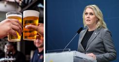 الحكومة تقترح تمديد حظر بيع الكحول لأسبوعين إضافيين image