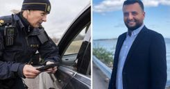 هل تحتاج الشرطة السويدية إلى أسباب لطلب التحقق من هوية الأفراد؟ المحامي محمد عنيزان يجيب image