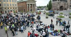 جامعة ستوكهولم: لولا السوريين لانخفض النمو السكاني في السويد image