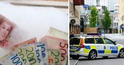 اعتقال سبعة أشخاص في السويد بتهمة تزوير أموال image