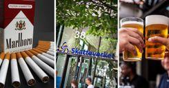 الحكومة ترفع الضريبة على الكحول والتبغ image