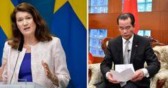 السفارة الصينية توجه تهديدًا شديد اللهجة إلى السويد image