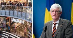 السويد تبحث فرض قيود على المحلات التجارية للحد من انتشار العدوى image