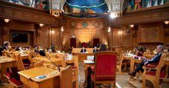 استجواب ثمانية وزراء سويديين من قبل اللجنة الدستورية في البرلمان image