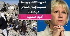 السويد تكثف جهودها كوسيط لإحلال السلام في اليمن image