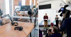 ضغوط على الصحفيين الأجانب في السويد image