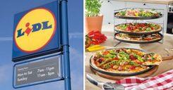 """متاجر """"ليدل"""" تسحب نوع بيتزا من الأسواق لاحتمال احتوائه على مواد معدنية image"""