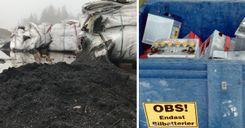 صادرات غير قانونية لنفايات البطاريات من السويد إلى دول أخرى image