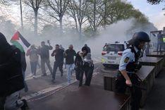 الشرطة الدنماركية تستخدم الغاز المسيل للدموع لتفريق مظاهرة قرب السفارة الإسرائيلية    image