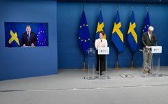 الحكومة السويدية تقرر تمديد قيود كورونا حتى 1 يونيو  image