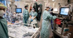 تحسن في علاج مرضى فيروس كورونا بالسويد image