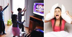 طرد عائلة مع سبعة أطفال من منزلها بسبب الضجيج image