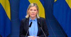 وزيرة المالية السويدية:البطالة مشكلة طويلة الأمد image